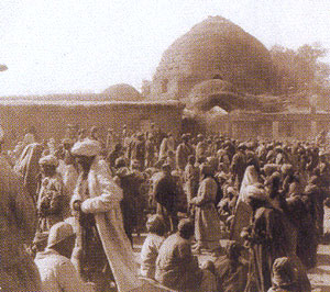 Chorsu Bazaar in the old time