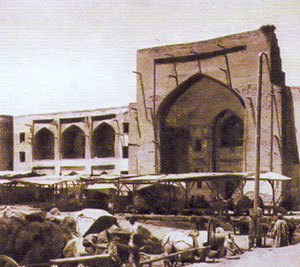 Old photo of Kukeldash Madrasah