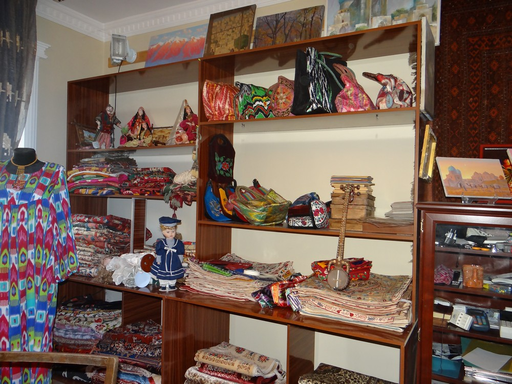 Selection of fabrics and cloths