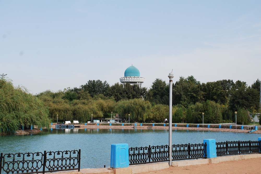 Small Ponds in the Park of Navoi, Tashkent
