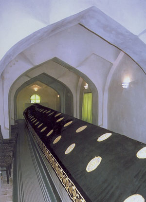 Interiors of the Mausoleum