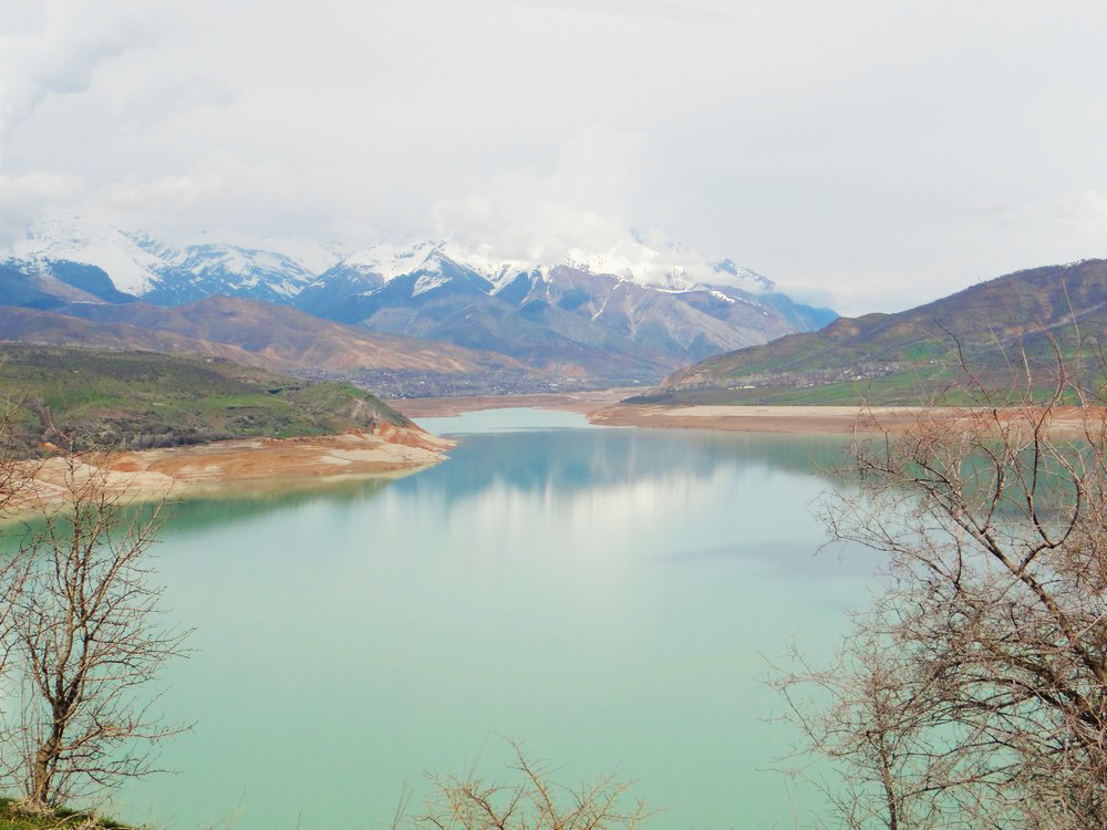 Magnificent views of Chorvak Lake