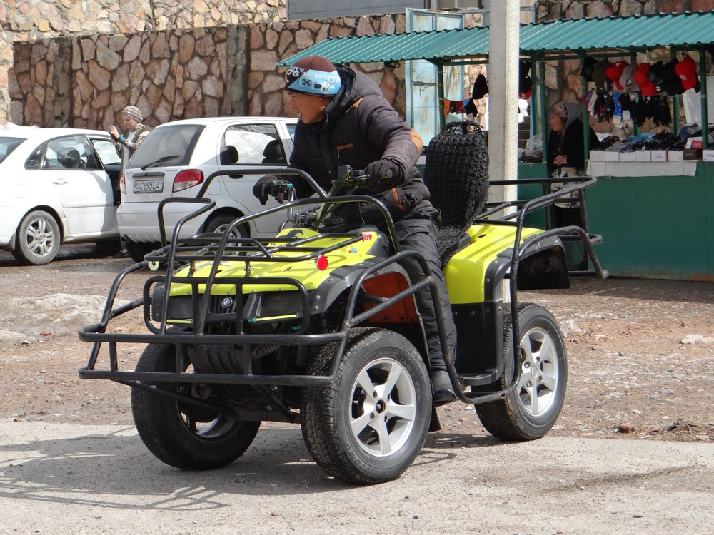 Quad Bikes in Chimgan