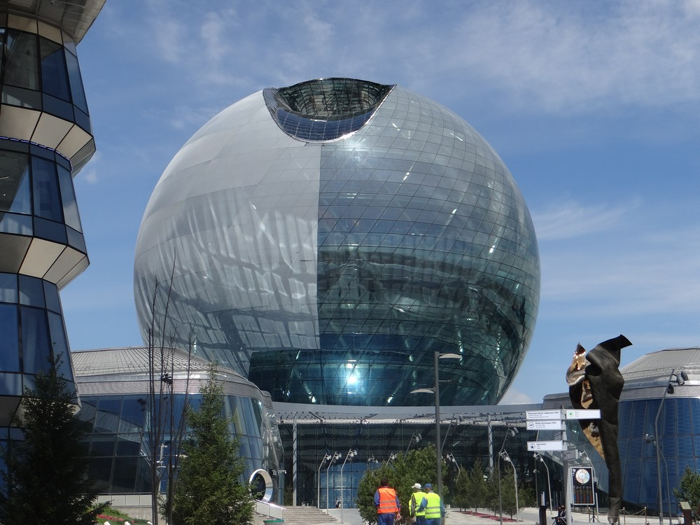 The Sphere, Kazakhstan Exposition at Expo 2017