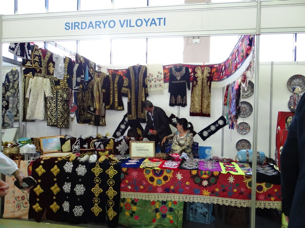 Embroidery from Syrdarya Province