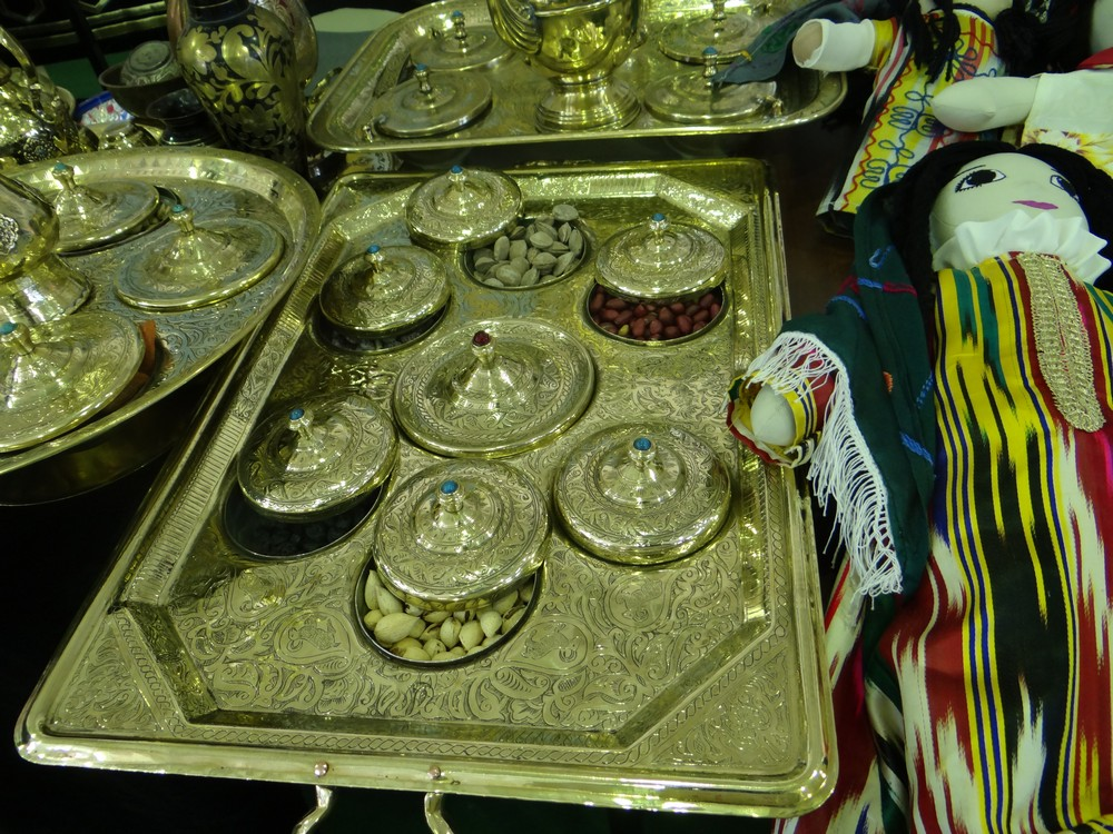 Brass Tray to serve sweets