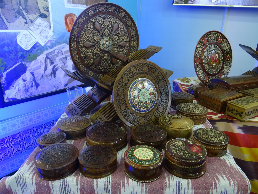 Carved and Painted Plates